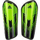 adidas Messi 10 Pro Shinguard - Semi Solar Slime & Black