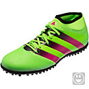 adidas Kids ACE 16.3 Primemesh TF Soccer Shoes - Solar Green & Shock Pink
