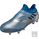 adidas Kids Messi 16+ Pureagility FG - Silver Metallic & Core Black