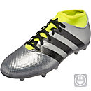 adidas Kids ACE 16.3 FG - Silver Metallic & Core Black