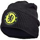 adidas Chelsea Beanie - Black & Solar Yellow
