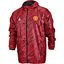 adidas Manchester United Windbreaker - Real Red
