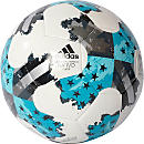 adidas 17 MLS Glider Soccer Ball - White & Energy Blue