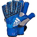 adidas ACE Trans Fingersave Pro Goalkeeper Gloves - Blue & Shock Pink