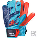 adidas Kids ACE Goalkeeper Gloves - Manuel Neuer - Energy Blue & Black