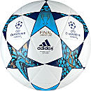 adidas Finale Cardiff Capitano Soccer Ball - White & Mystery Blue