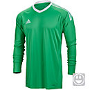 adidas Kids Revigo 17 Goalkeeper Jersey - Energy Green & White