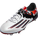 adidas Messi 10.2 FG Soccer Cleats - White and Granite