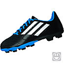 adidas Kids Conquisto FG Soccer Cleats - Black & Blue