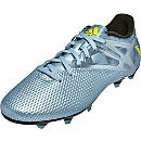 adidas Messi 15.3 FG/AG Soccer Cleats - Metallic and Yellow