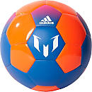 adidas Messi Soccer Ball - Blue & Solar Orange