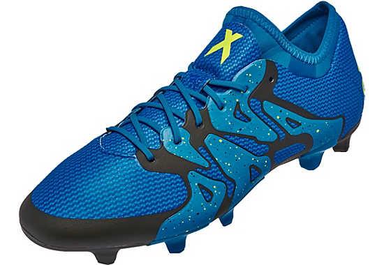 Adidas x 15 1 gt gt free shipping gt gt adidas x soccer cleats blue
