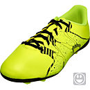 adidas Kids X 15.4 FxG Soccer Cleats - Yellow and Black