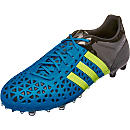 adidas ACE 15.1 FG/AG - Solar Blue & Yellow