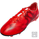 adidas Youth F10 FG Soocer Cleats - Red and White