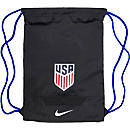 Nike USA Allegiance Gymsack - Black & Game Royal