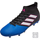 adidas Kids ACE 17.3 FG Soccer Cleats - Black & Blue