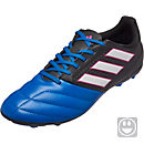 adidas Kids ACE 17.4 FG Soccer Cleats - Black & Blue