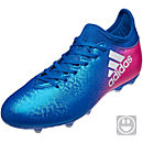 adidas Kids X 16.3 FG - Blue & Shock Pink
