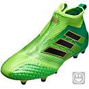 adidas Kids ACE 17+ Purecontrol FG - Solar Green & Black