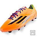 adidas Youth F50 adizero TRX FG Soccer Cleats  Solar Zest with Purple