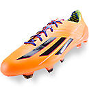 adidas F50 adizero TRX FG Soccer Cleats  Solar Zest with Blast Purple