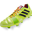 adidas Nitrocharge 2.0 TRX FG Soccer Cleat Solar Slime and Solar Zest