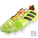 adidas Youth nitrocharge 2.0 TRX FG Soccer Cleats Solar Slime & Black