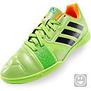 adidas Youth Nitrocharge 3.0 Indoor Soccer Shoes  Solar Slime & Black