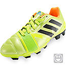 adidas Youth nitrocharge 3.0 TRX FG Soccer Cleats Solar Slime & Black