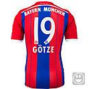 adidas Kids Gotze Bayern Munich Home Jersey 2014-15