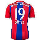 adidas Gotze Bayern Munich Home Jersey 2014-15