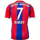 adidas Ribery Bayern Munich Home Jersey 2014-15