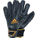 adidas Predator Pro Goalkeeper Gloves  Black with Solar Zest