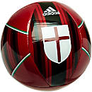 adidas AC Milan Soccer Ball - Victory Red