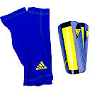 adidas Nitrocharge Pro Shin Guard  Blue Beauty with Electricity