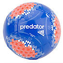 adidas Predator Glider Soccer Ball  Pride Blue with Orange