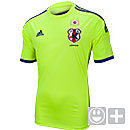 adidas Youth Japan Away Jersey 2014  Electricity with Japan Bleu