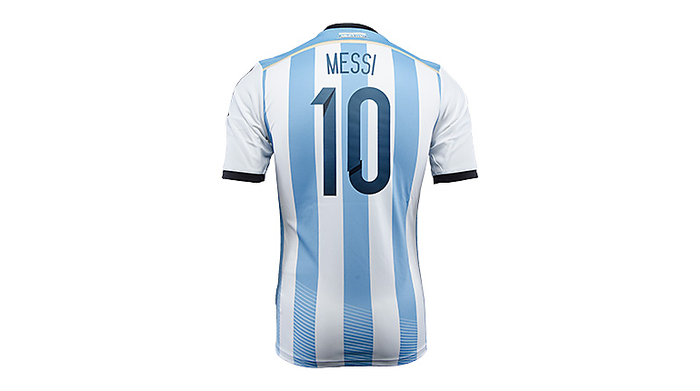 adidas Argentina Messi World Cup Home Jersey