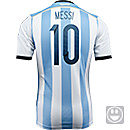 adidas Youth Argentina Messi World Cup Home Jersey