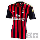 adidas Youth AC Milan Home Jersey 2013-2014