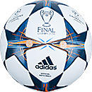 adidas Finale Lisbon Soccer Ball  White with Tribe Blue