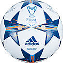 adidas Finale Lisbon Top Training Soccer Ball  White with Tribe Blue