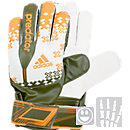 adidas Youth Predator Fingersave Replique  White with Solar Zest