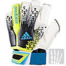 adidas Predator Fingersave Ultimate Goalkeeper Gloves  Black