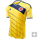 adidas Colombia Home Jersey  World Cup 2014
