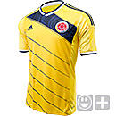 adidas Youth Colombia Home Jersey  World Cup 2014