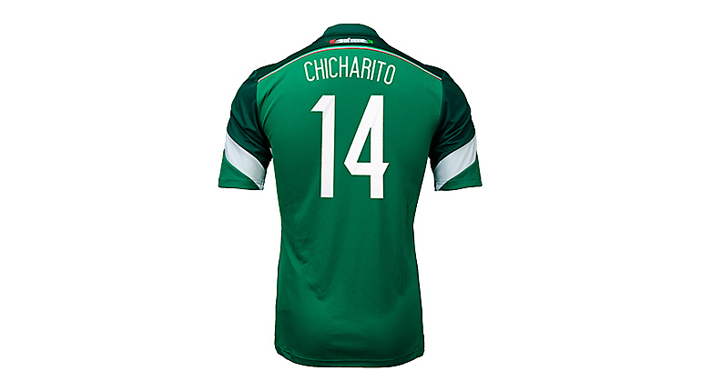 adidas Mexico Chicharito World Cup Home Jersey
