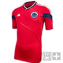 adidas Youth Colombia Away Jersey 2014  Red with White