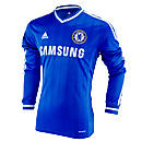adidas Chelsea Long Sleeve Home Jersey 2013-2014